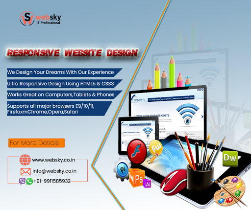 Freelance Graphic Designer & Web Designer New Delhi – Web Sky