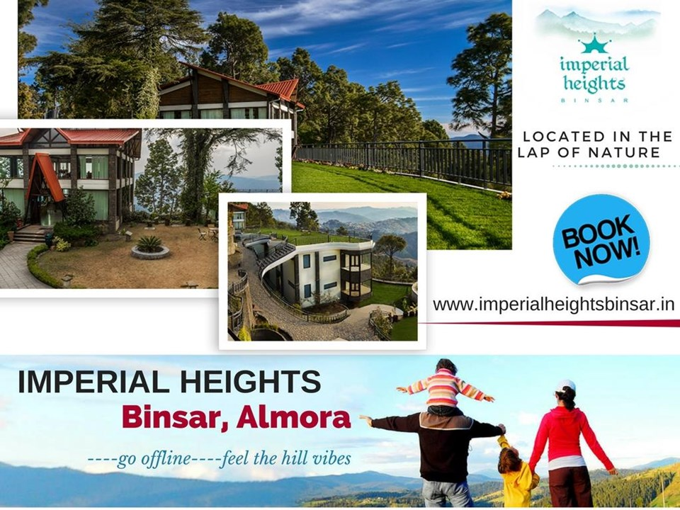Best Hotel in Binsar & Imperial Heights Binsar
