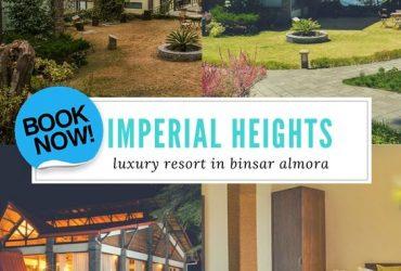 Resort Binsar, 3 Star Hotel in Binsar, Imperial Heights Binsar