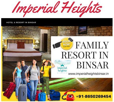 8650269454 Luxury Hotel in Binsar ! Top Resort Binsar