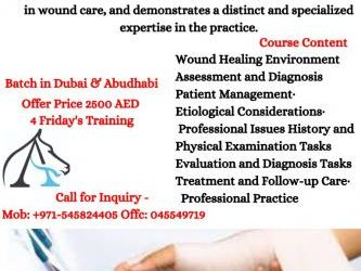 Oct 23rd – Certified Wound Care Specialist Certification Training in Dubai