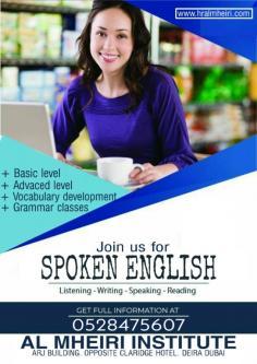 Sep 4th – Spoken English classes in Dubai 0528475607