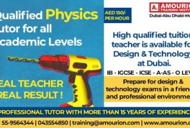 May 19th – Sep 16th – IB Chemistry Tutor in Dubai Call 055-9564344